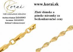 Zlaté náramky KORAI