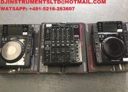 Predám Pioneer DJ 2x Pioneer Cdj-2000 Nxs2 & Djm-900 Nxs2 + Hdj-2000 Mk2 Dj balíček